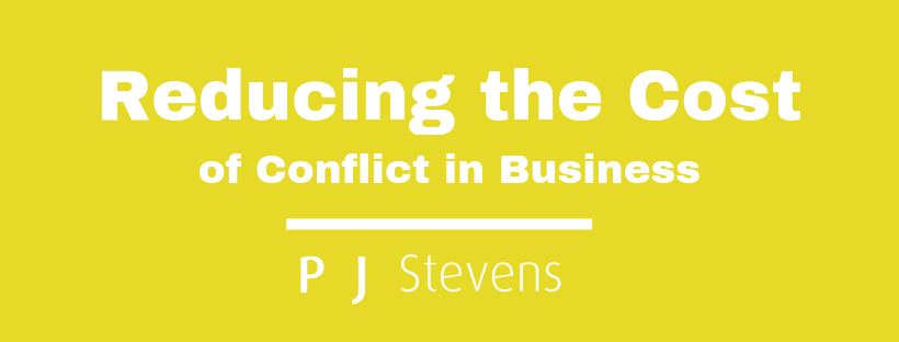 The Cost of Conflict in Business